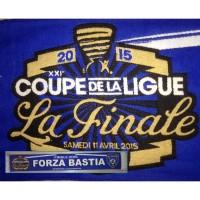 Echarpe SCB BASTIA LA FINALE Coupe de la ligue 2015 OCCASION