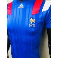 Maillot ancien EQUIPE DE FRANCE F.F.F adidas taille S