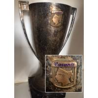 Ancienne Coupe Trophée CASANIS football année 70
