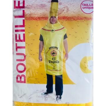Deguisement NEUF Costume Bouteille BIERE TEQUILA taille adulte unique