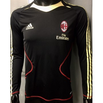 Maillot MILAN AC adidas taille S noir et or  manches longues