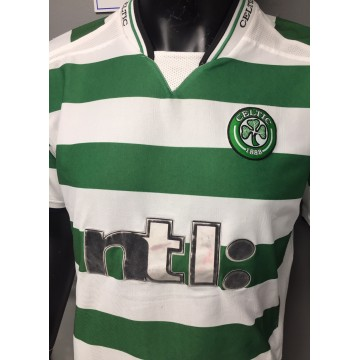 Maillot CELTIC 1888 taille L NTL Gold Football