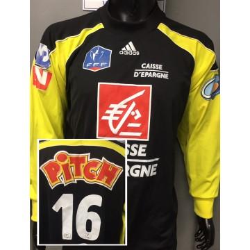 Maillot Gardien Goal Coupe de France FFF porté N°16 taille XL