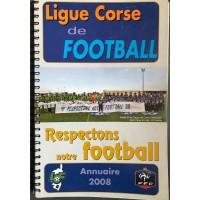 Annuaire LIGUE CORSE DE FOOTBALL 2008