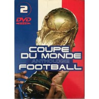 Coffret 2 DVD COUPE DU MONDE ANTHOLOGIE FOOTBALL  FRANCE 98