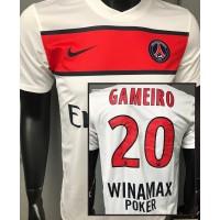 Maillot PSG PARIS N°9 LFP GAMEIRO taille M Nike