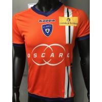 Maillot KAPPA SCB BASTIA taille M orange