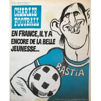 Ancien CHARLIE HEBDO FOOTBALL SECB BASTIA 27 avril 1978