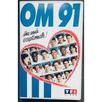 Ancienne cassette K7 VHS O.MARSEILLE OM 91