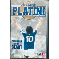 Cassette K7 LES ANNES PLATINI  Parcours d&#39un Géant