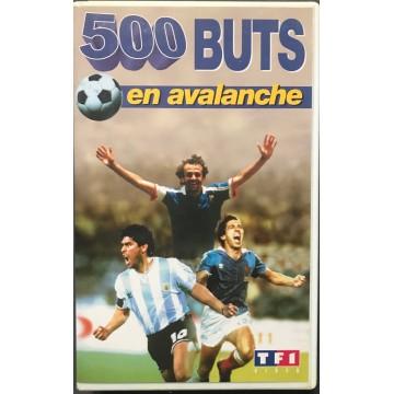Cassette K7 500 BUTS en avalanche  FOOTBALL
