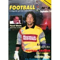 Ancien CORSE FOOTBALL N°2 Mensuel SEPTEMBRE 1994