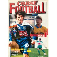 Ancien CORSE FOOTBALL N°16 Mensuel MARS 1996