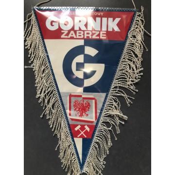 Fanion Le Górnik Zabrze Klub Sportowy GRAND FORMAT Pologne