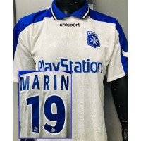 Maillot AJA AUXERRE porté N°19 LNF MARIN taille XL uhlsport