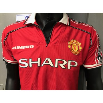 Maillot ancien MANCHESTER UNITED Sharp umbro taille M