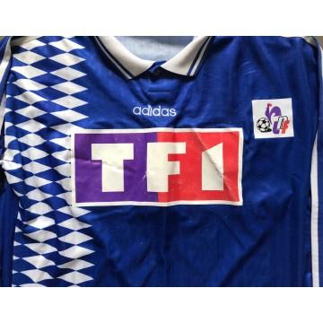 Maillot SCB Bastia Coupe de la Ligue 1995 porté N°13 adidas
