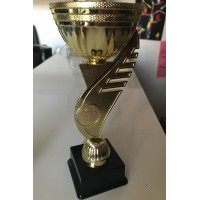 Coupe trophée Boule petanque en plastique