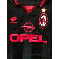Ancien Maillot Milan AC noir LOTTO taille XL