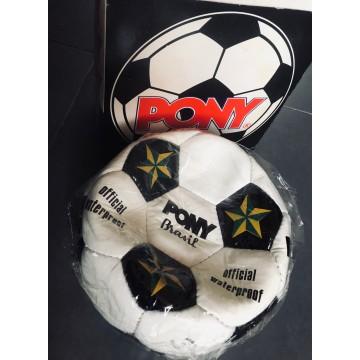 Ancien Veritable Ballon Football PONY BRASIL année 70 avec boite