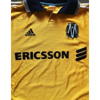 Ancien Maillot OM Marseille Centenaire Or 100 ans ADIDAS taille L