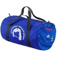 LE FOOTBAGG EQUIPE DE FRANCE N°10 ZIDANE sac de Sport Bleu (BA83)