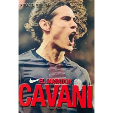 Livre CAVANI El Matador PSG PARIS  romain Molina 250 pages