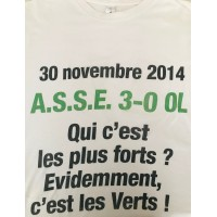 Tee-shirt ASSE Saint Etienne COLLECTOR Taille XL