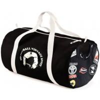 LE FOOTBAGG RUGBY BASTIA XV N°7 sac de Sport noir  (BA130)