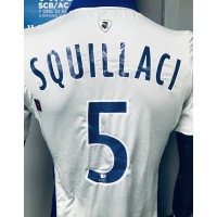 Maillot Bastia SCB SQUILACI N°5 LFP taille M Kappa