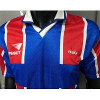 Maillot equipe FRANCE BEACH Soccer LEAGUE porté N°3 SQUAGLIA taille L