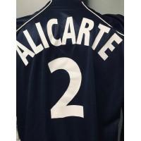Maillot equipe Officiel FRANCE BEACH Soccer LEAGUE porté N°2 ALICARTE