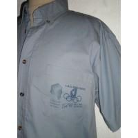 Chemise officiel CORSE 9ème Jeux des Iles CRETE 2005 taille L