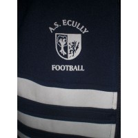 Veste Vintage ADIDAS A.S.ECULLY FOOTBALL taille 174 (M)