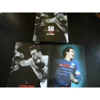 Coffret 2 volumes collection 50ans du sport l&#39EQUIPE 1946-99
