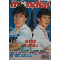 Magazine MONDIAL Un choc en Capitale P.S.G / Matra Racing Paris
