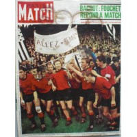 Magazine PARIS MATCH JUIN 1965 La coupe de FRANCE à RENNES