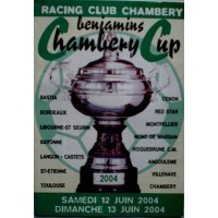 Bulletin Benjamins Chambery Cup 2004 avec l&#39E.F.BASTIA
