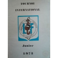 Ancien Livre TOURNOI INTERNATIONAL JUNIOR 1973 LCF CORSE