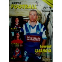 Ancien CORSE FOOTBALL N°4 Mensuel Novembre 1994