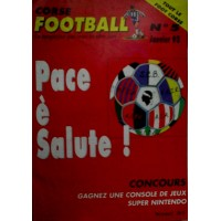 Ancien CORSE FOOTBALL N°5 Mensuel Janvier 1995