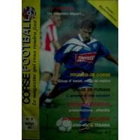 Ancien CORSE FOOTBALL N°9 Mensuel Août 1995