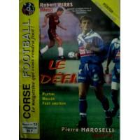 Ancien CORSE FOOTBALL N°12 Mensuel Novembre 1995