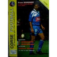 Ancien CORSE FOOTBALL N°13 Mensuel DECEMBRE 1995