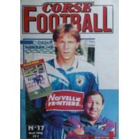 Ancien CORSE FOOTBALL N°17 Mensuel Avril 1996