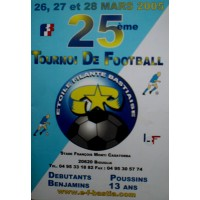 Bulletin 25ème Tournoi de Football E.F.BASTIA 2005