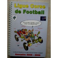 Annuaire LIGUE CORSE DE FOOTBALL 2005-2006