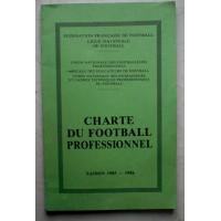Charte du Football Professionnel saison 1985-86 F.F.F / L.N.F