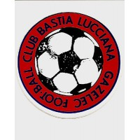 Ancien Autocollant du Gazelec Football Club Bastia Lucciana