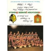 Calendrier petit format de L&#39A.J.BIGUGLIA saison 1995